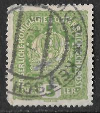 Raro Austria Deutsch _ Österreich C 1916 - 5 Heller Verde-SEE SCAN