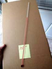 RARE 15 INCH GLASS REPLACEMENT THERMOMETER TUBE FOR ADVERTISING THERMOMETERS