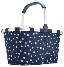 Carrybag by Reisenthel spots Navy Bk4044 Panier Sac shopping