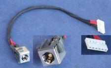DC jack plug for asus k55 k55a u57 u57a (6 pins, 2.5mm) with cable