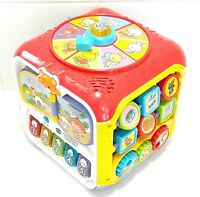 Vtech Sort & Discover Activity Cube Musical Baby Toddler Development Toy