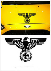 WW2 German Iron Cross Eagle Car Decal Sticker Body sticker Window sticker