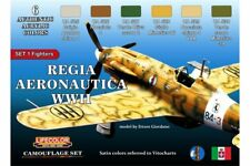 LifeColor CS19 Regia Aeronautica WWII Colours Set 1 6x 22ml Acrylic Colours