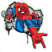 Spiderman Wall Decal Sticker 3D Mural Childs Bedroom Nursery Peel & Stick - Easy