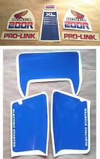 Autocollants / Stickers / Decal Honda XL200R - XLR 200 (1985)