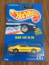 Hot Wheels Olds 442 W-30 Car Collector # 267 NIB 1991