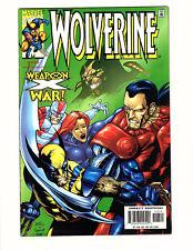 Wolverine #143 (1999, Marvel) VF Vol 2 Weapon X War! Alpha Flight Leinil Yu