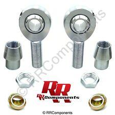 "3/8""-24 x 3/8"" Bore, Chromoly Panhard Rod End kit w/ Cones (Fits 7/8 x.065 Tube)"