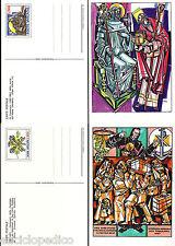 W059 VATICANO - 1987 Interi Postali Abate Desiderio e Missionari  C29/30  nuovi