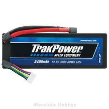 TrakPower LiPo 4S 14.8V 5400mAh 100C Hard Case Star Plug - TKPC0730