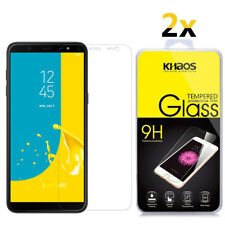 2-Pack Khaos For Samsung Galaxy J6 (2018) Tempered Glass Screen Protector