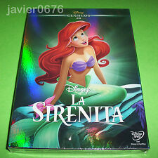LA SIRENITA CLASICO DISNEY NUMERO 28 DVD NUEVO Y PRECINTADO SLIPCOVER