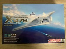 X-47B unmanned combat air system 1/48