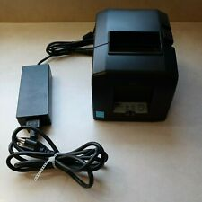Star Tsp650ii Thermal Receipt Printer With Power Supply Ethernet 654iie3