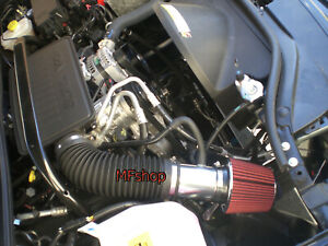 RED For 2005-2007 Jeep Grand Cherokee Commander 3.7L 4.7L V8 Air Intake Kit