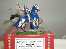 BRITAINS 40395 ROBERT COMTE DE MARIE FRENCH MOUNTED MEDIEVAL KNIGHT TOY SOLDIER