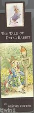 THE TALE OF PETER RABBIT A BEATRIX POTTER BOOKMARK COLLECTION MAGNETIC!  NEW!