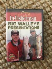 In Fisherman Big Walleye Presentations Dvd new