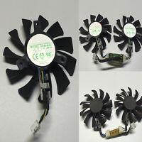 Kühlerlüfter 4GB Grafikkartenlüfter Fan GA81S2U 4-Wire für ZOTAC GeForce GTX 970