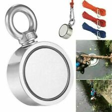 1100lbs Fishing Magnet Kit Large Pull Force Strong Neodymium Or 10m Long Rope