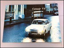 1967 Ford Corsair V4 GT Original Vintage Car Sales Brochure Catalog