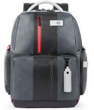 Zaino PIQUADRO Urban fast-check Uomo Grigio-Nero CA4550UB00BM/GRN con Connequ