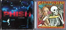 A Live One by Phish (CD) & Skeletons From The Closet: TBOTGD, by Grateful Dead