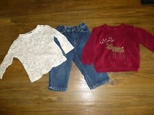 ~GYMBOREE BABY GAP  KENNETH COLE~ LOT Shirt  Sweater Jeans SIZE 12-18 mo GREAT