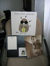 "CHARLIE WATTS ""From one Charlie"" CD Box-Set + Buch RARE"
