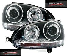 VW Golf 5 V H7 Scheinwerfer Xenon Look Neu Schwarz GTI R32 GT TDI Lampen vorne