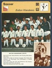 SPORTSCASTER-1979-EDITIONS RENCONTRE-BOLTON WANDERERS TEAM PHOTO