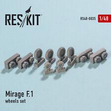 Reskit - 48-0035 - Mirage F.1 (wheels set) - 1:48