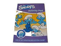 niños infantil - THE SMURFS color / Para Colorear libro de actividades Pad -
