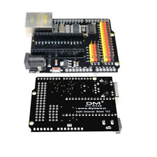 7-12V ENC28J60 Ethernet Network Shield V2.0 For Arduino UNO R3 CH340 Nano V3.0
