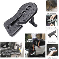 NEW Folding Car Door Step Latch Hook Foot Pedal Ladder for Jeep SUV Truck Roof
