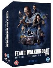 FEAR OF THE WALKING DEAD 1-4 (2015-2018) Prequel TV Season Series Rg2 DVD not US