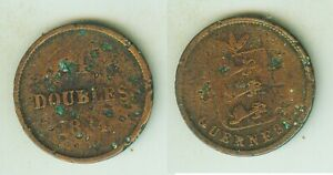 4 Doubles 1864   Guernsey