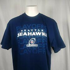 Seattle Seahawks NFL Apparel Playoffs Playoffs Playoffs Graphic T Shirt Size XL