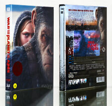 WAR FOR THE PLANET OF THE APES [Blu-ray] 3D+2D (STEELBOOK) Limited 850 FULL SLIP