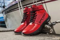 Sperry 7 Seas Pro Red Softbank/Team Japan/ Brand New Size 8.5 RARE