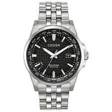 -NEW- Citizen World Time Eco-Drive Watch BX1000-57E