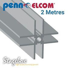 Penn Elcom 2 Metres 4 Way Divider Extrusion