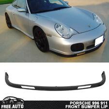 Fits 01-05 Porsche 996 911 Turbo Carrera 4 4S Front Bumper Lip Spoiler Bodykit