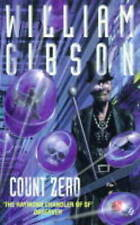 Count Zero, By Gibson, William,in Used but Acceptable condition