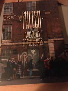 phlegm Mausoleum Of The Giants Book Limited Signed Embossed Edition SOLD OUT!