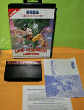 LAND OF ILLUSION starring Mickey Mouse > SEGA Master System + Anleitung & OVP