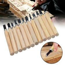1 Set Wood Carving Chisel Tool Kit DIY Hobby Craft Carving Gouges Hand S0T9