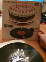 ORIGINAL VINYL LP-THE ROLLING STONES - LET IT BLEED - DECCA - SKL 5025 - 1969