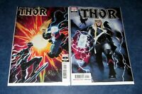 THOR 1 1:25 MATTEO SCALERA SILVER SURFER BLACK variant 1st print DONNY CATES NM