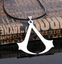 Assassins Creed Jewelry Gift Men Boy Unisex Pendant Necklace Stainless Steel